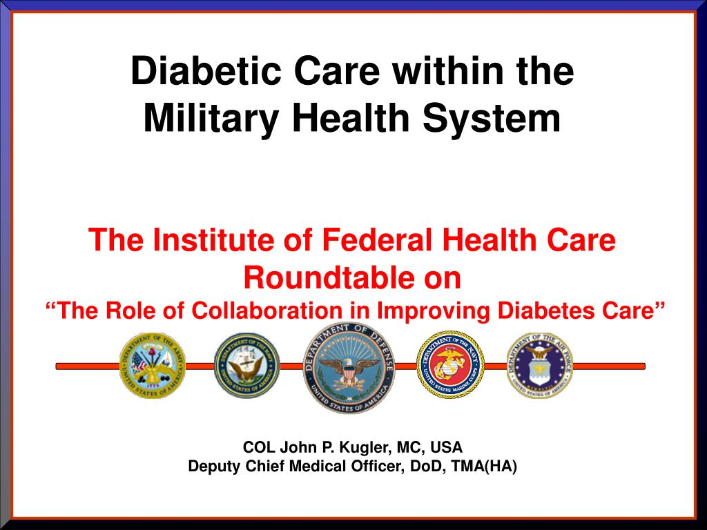 Diabetic Care within the Military Health System