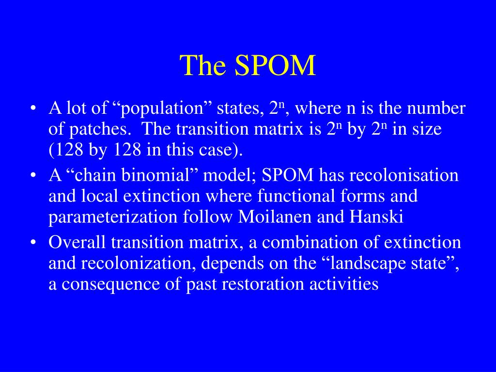 The SPOM