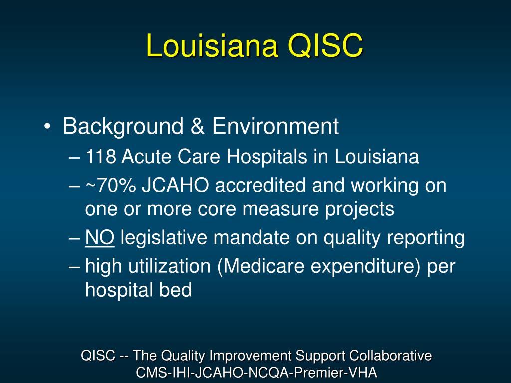 Louisiana QISC
