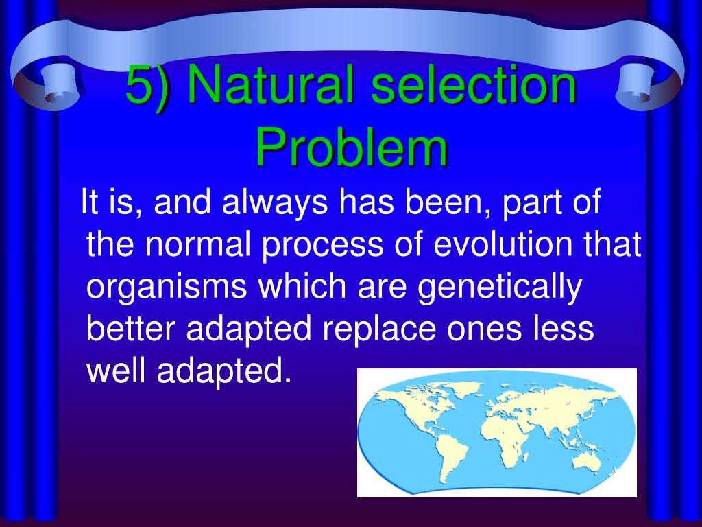 5) Natural selection Problem