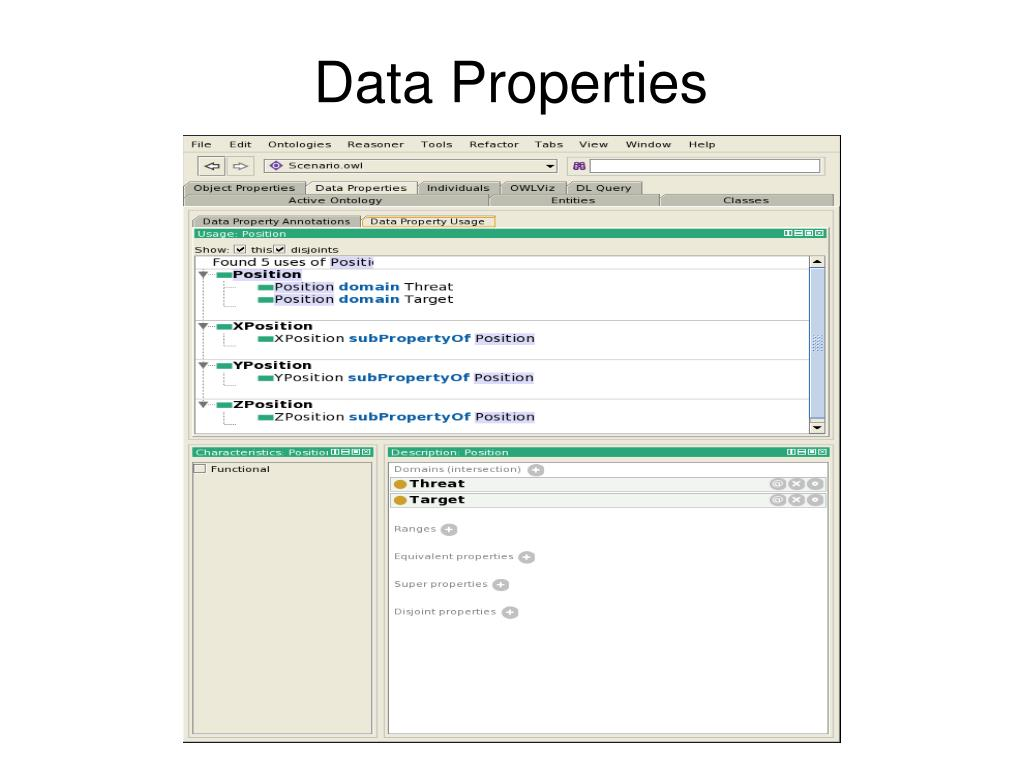 Data Properties