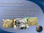 people and power alternative conceptions17