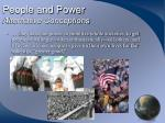 people and power alternative conceptions19