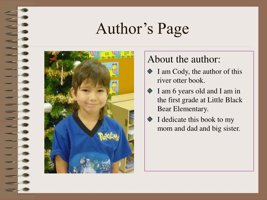 Author's Page