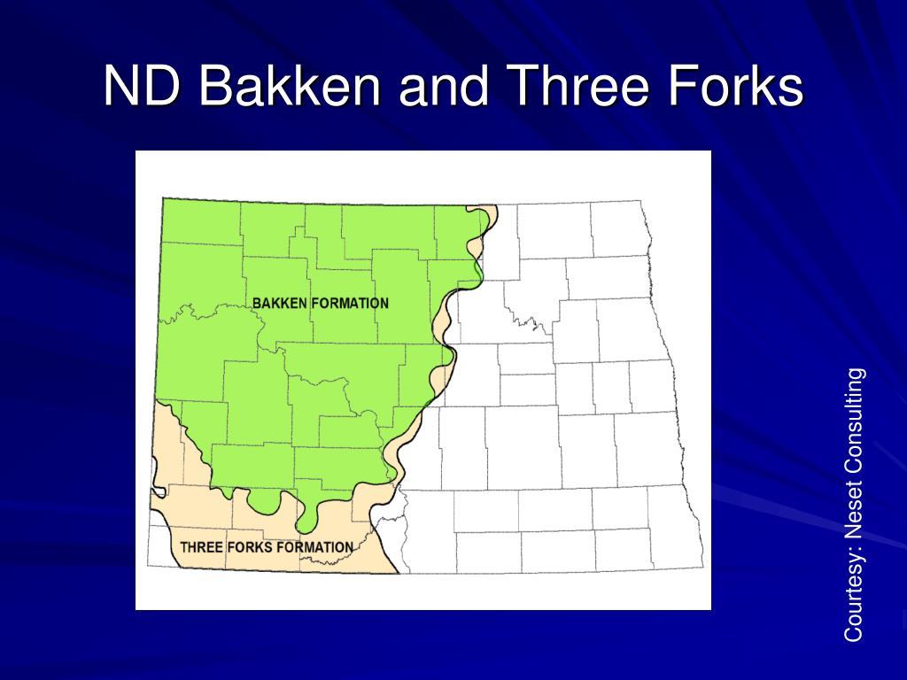 ND Bakken and Three Forks