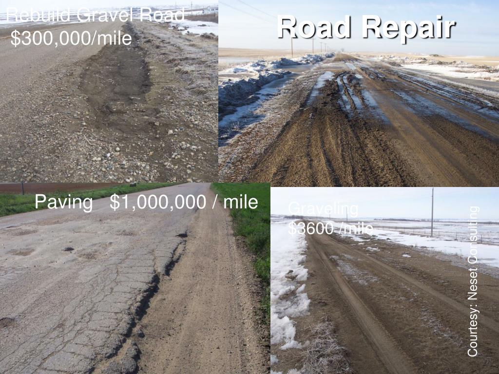 Rebuild Gravel Road