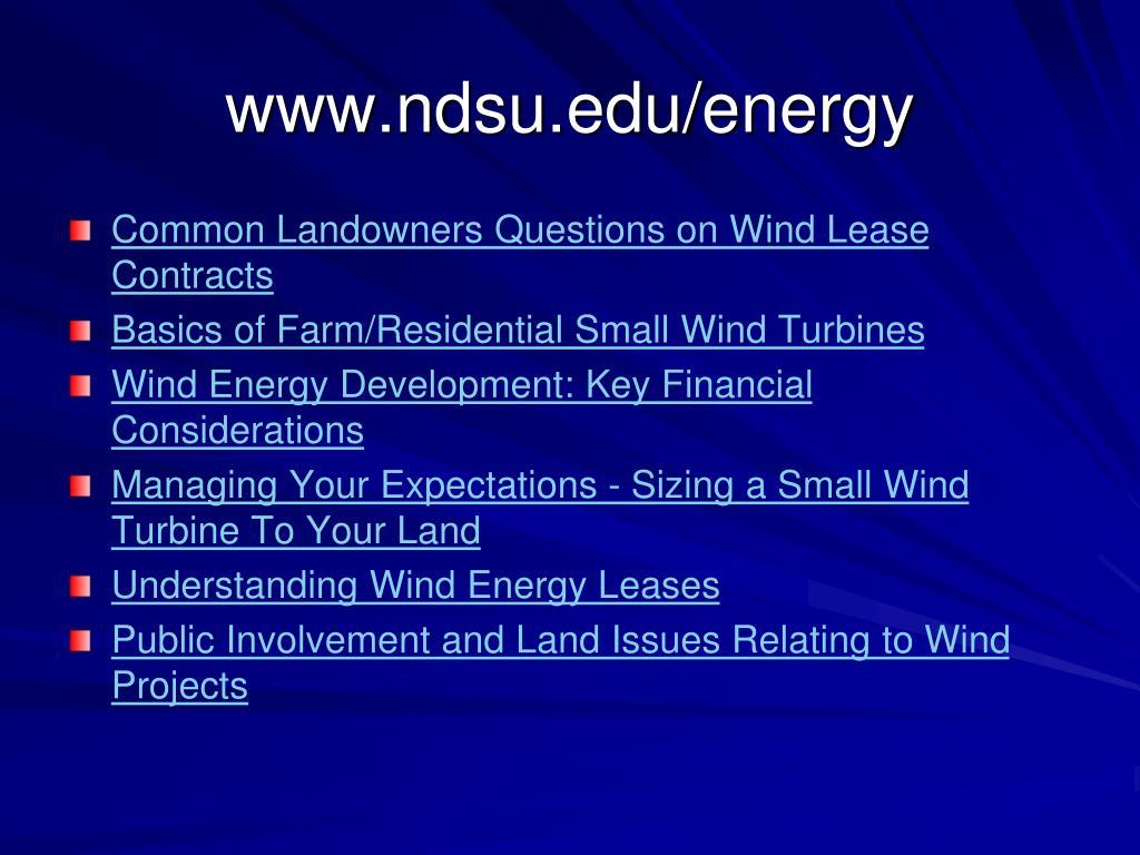 www.ndsu.edu/energy