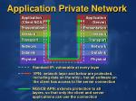 application private network