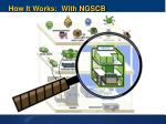 how it works with ngscb