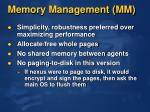 memory management mm