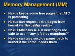 memory management mm1