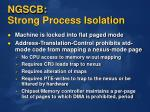 ngscb strong process isolation