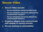 secure video1