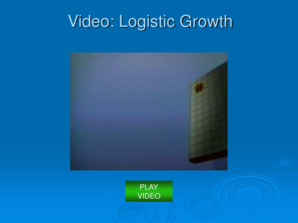 Video: Logistic Growth