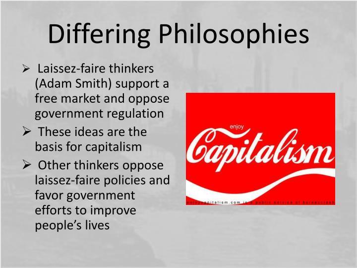 Differing Philosophies