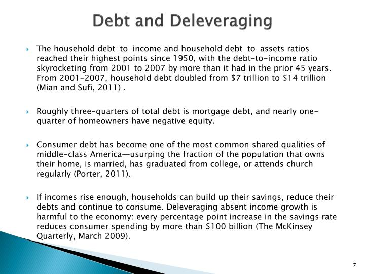 Debt and Deleveraging