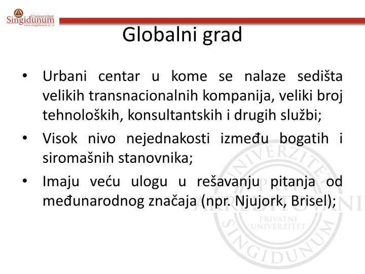Globalni grad