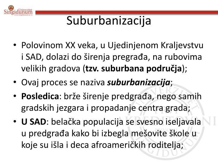 Suburbanizacija