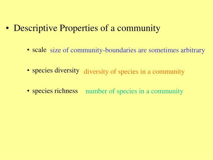 Size of community-boundaries are sometimes arbitrary