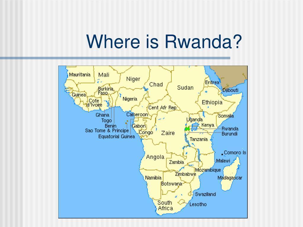 Where is Rwanda?