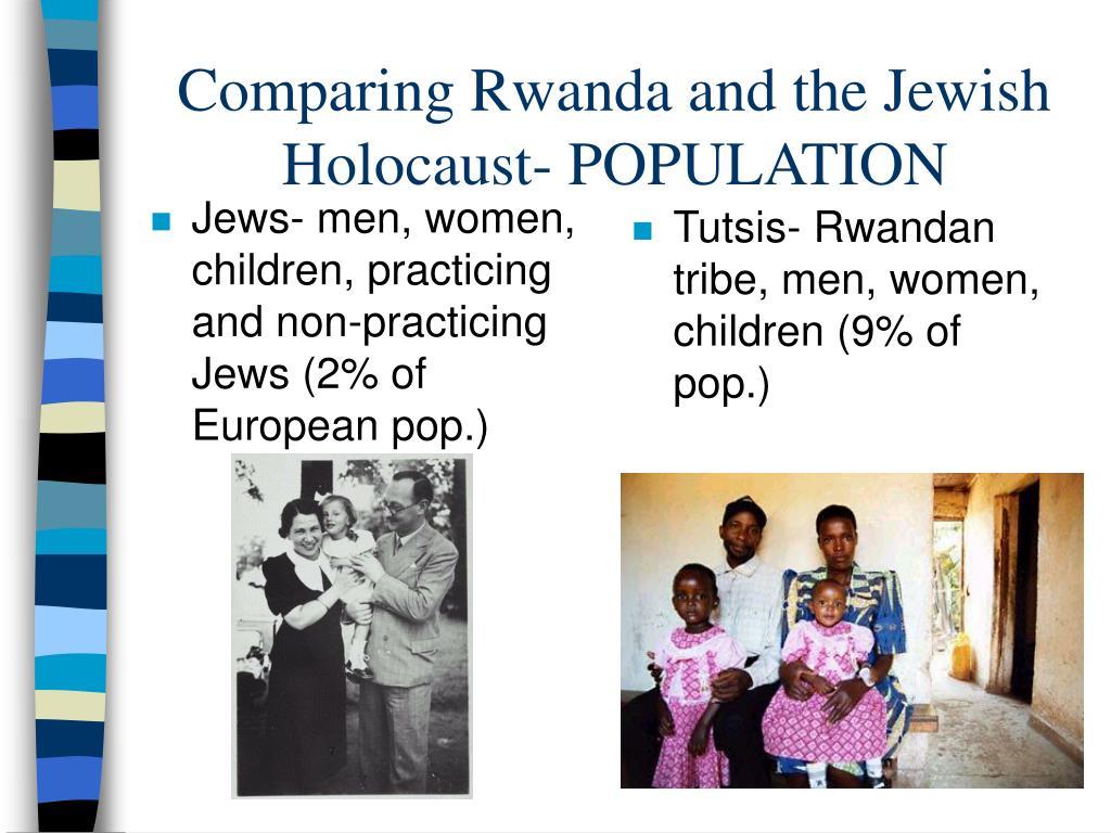 Jews- men, women, children, practicing and non-practicing Jews (2% of European pop.)