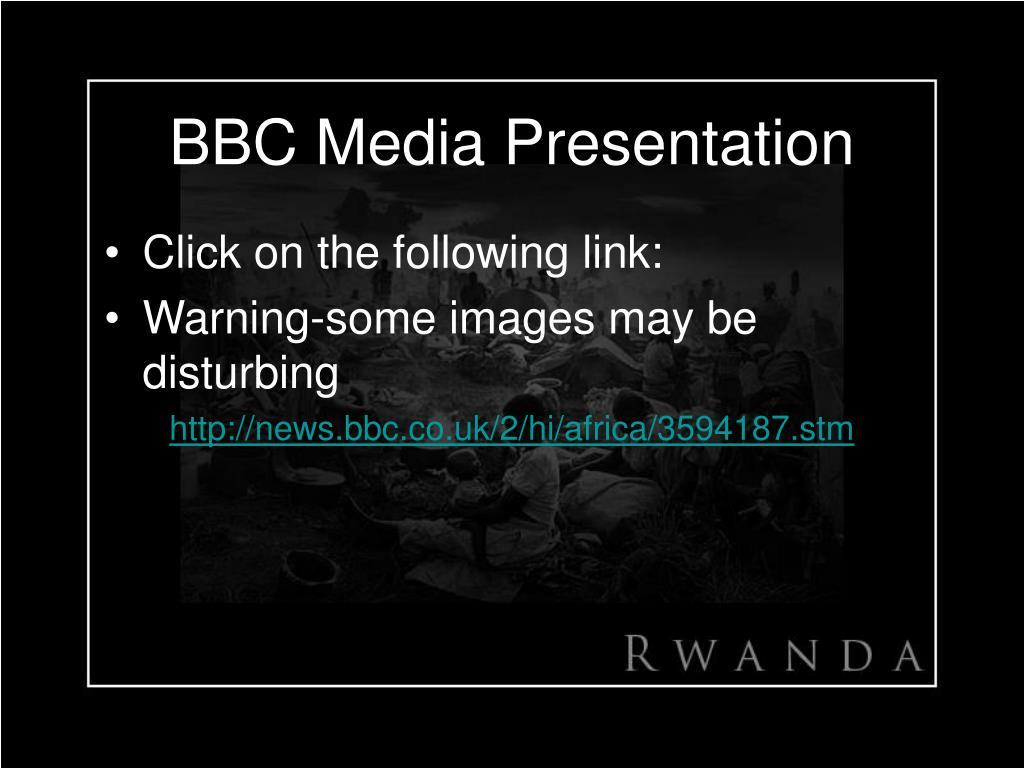 BBC Media Presentation
