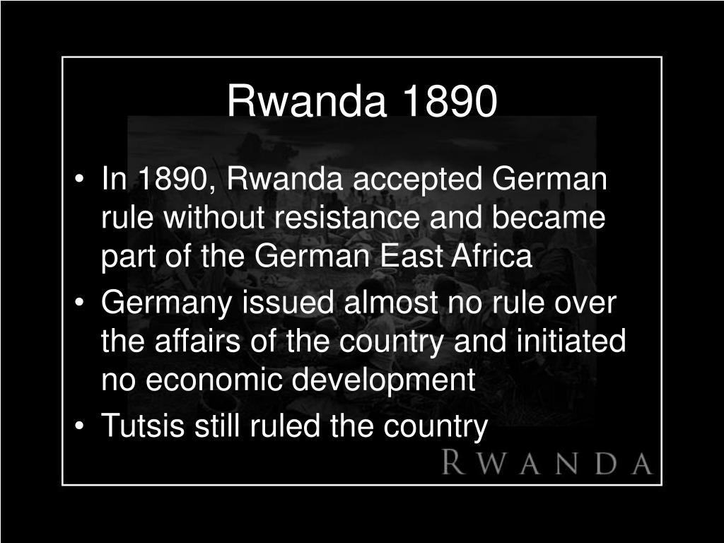Rwanda 1890