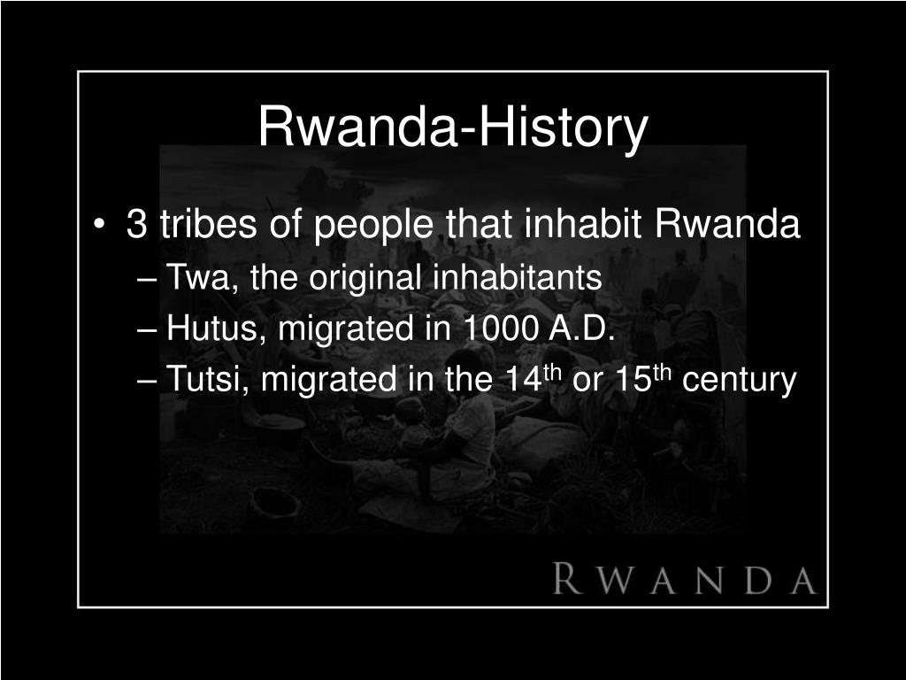 Rwanda-History