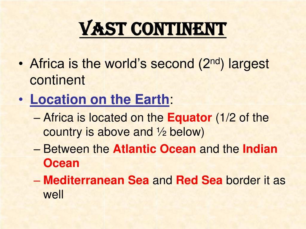 Vast Continent