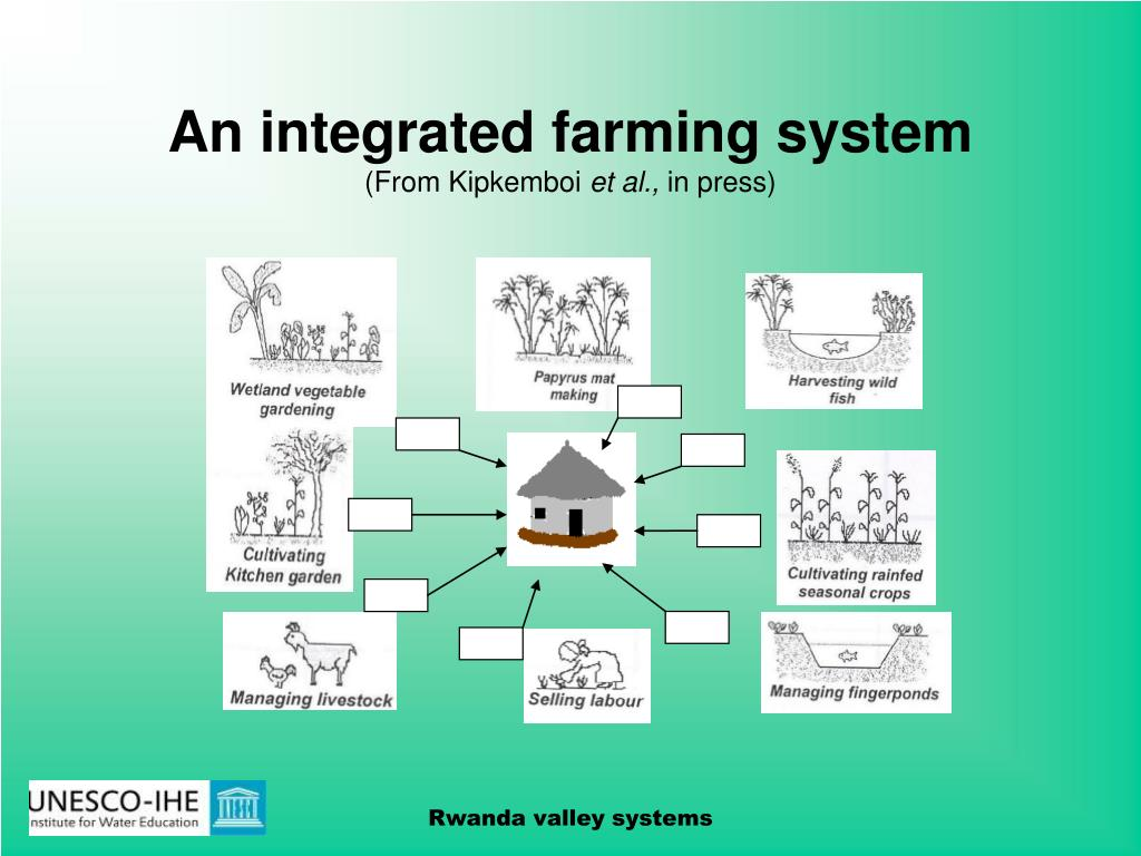 An integrated farming system