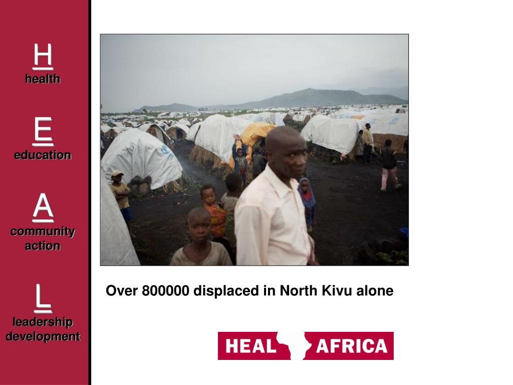 Over 800000 displaced in North Kivu alone