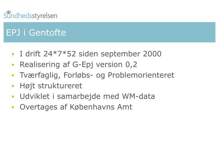 EPJ i Gentofte