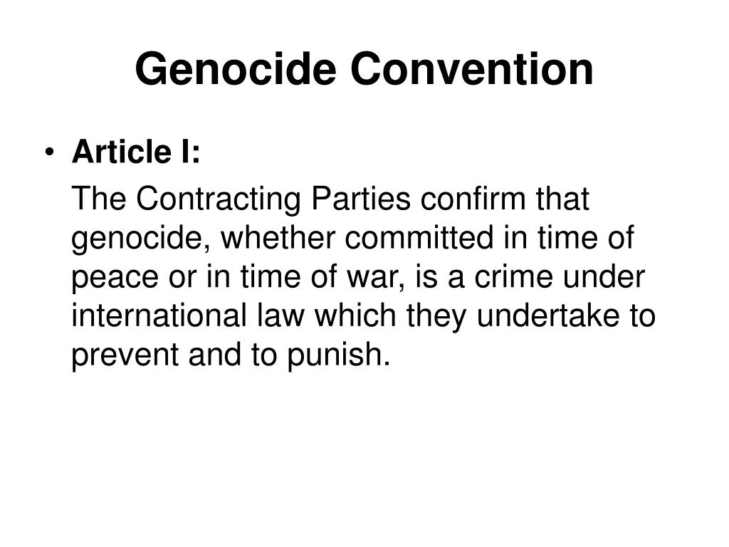 Genocide Convention