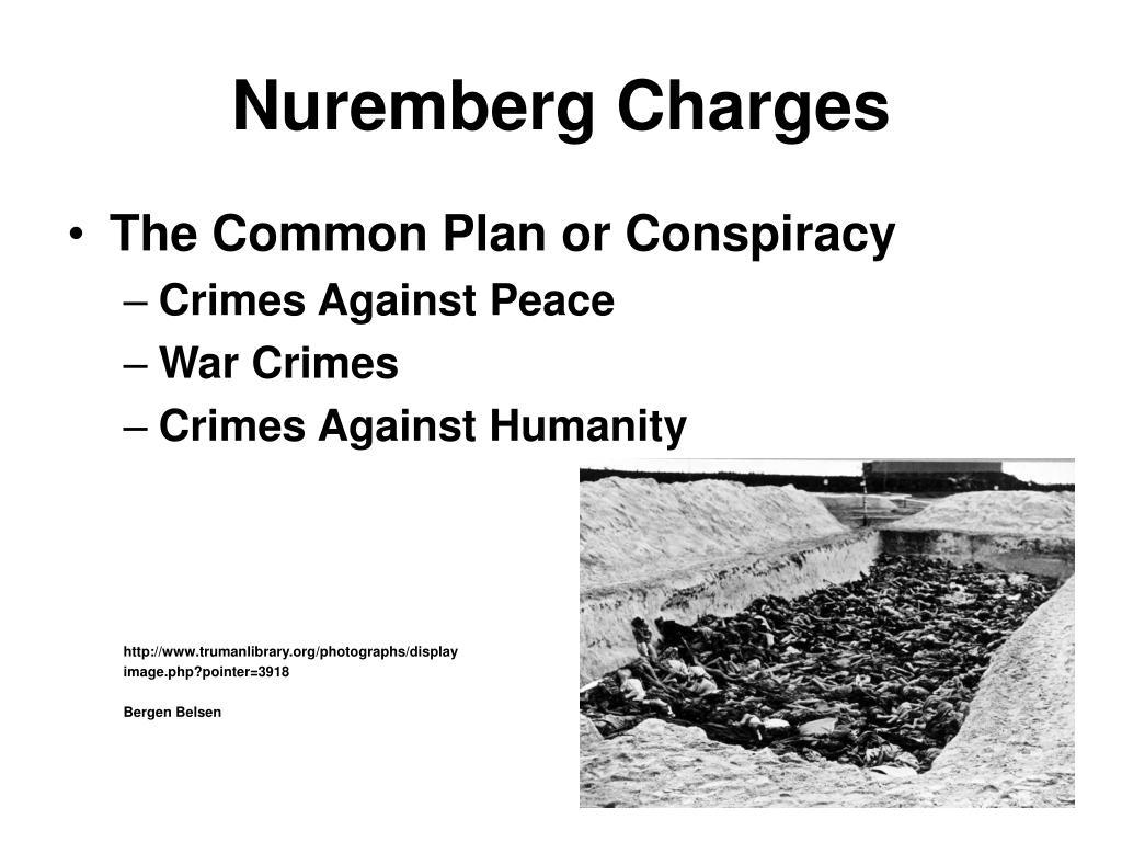 Nuremberg Charges