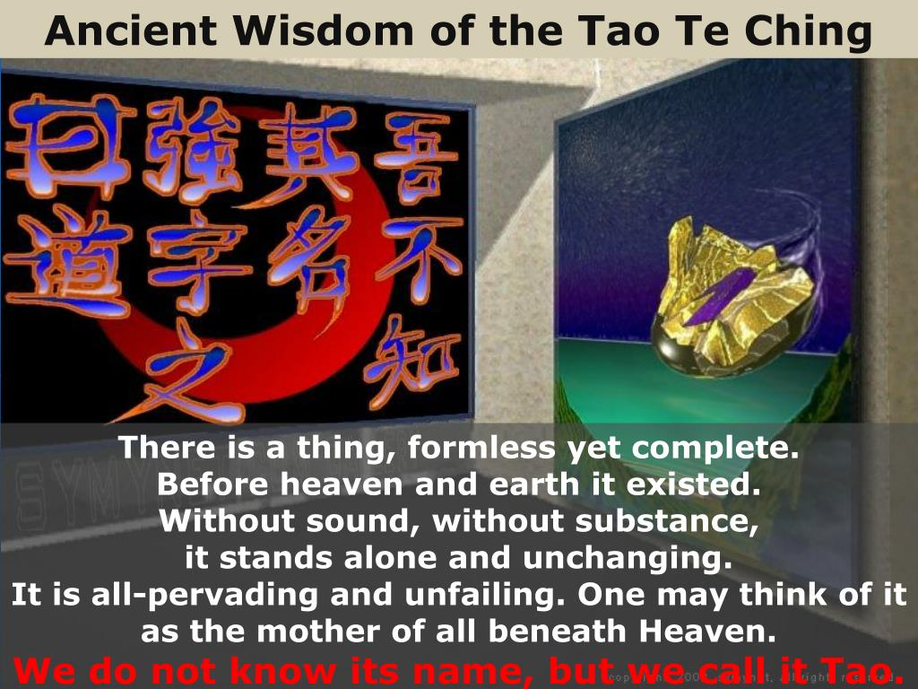 Ancient Wisdom of the Tao Te Ching