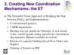 3 creating new coordination mechanisms the et