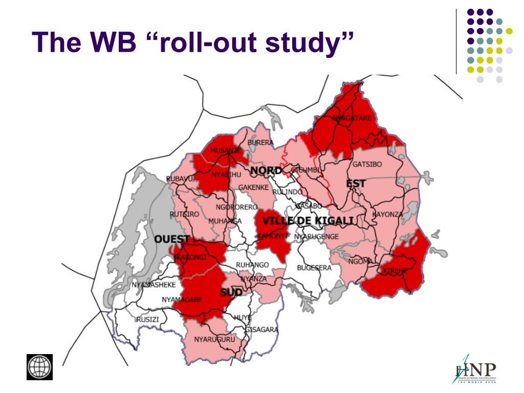 "The WB ""roll-out study"""