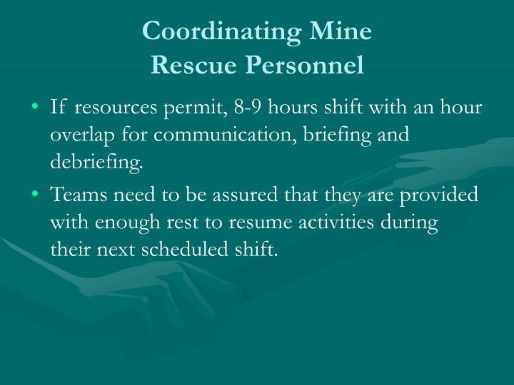 Coordinating Mine