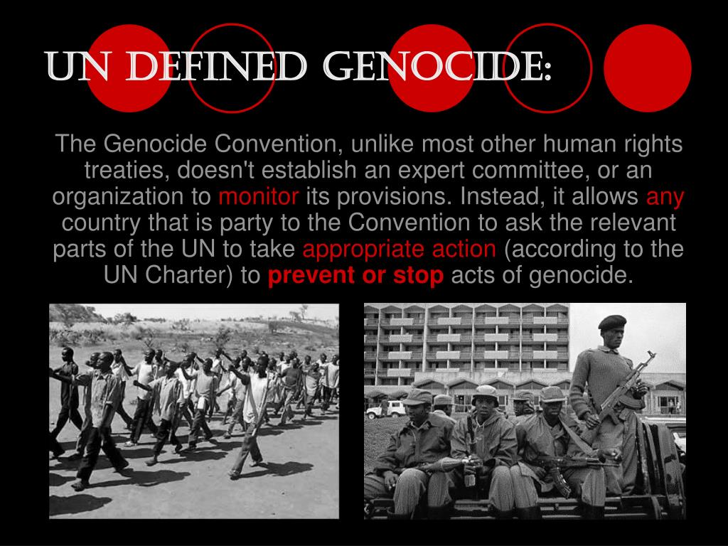 UN Defined Genocide: