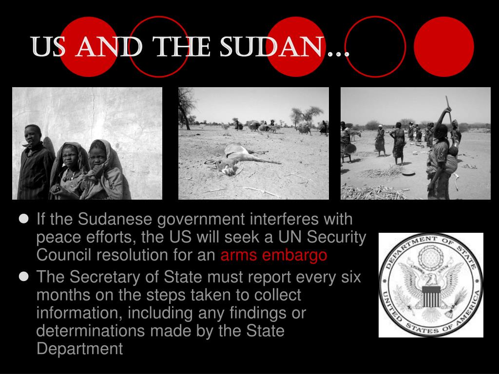 US and The Sudan
