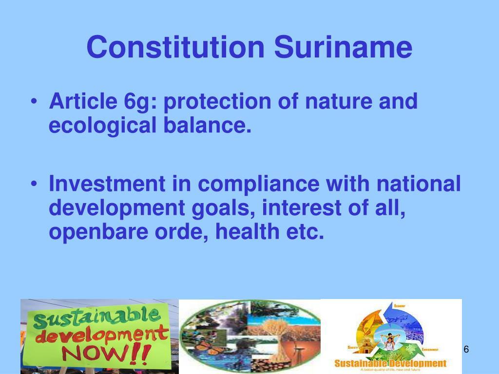 Constitution Suriname