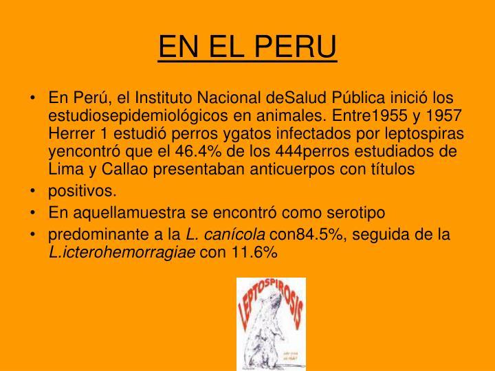 EN EL PERU