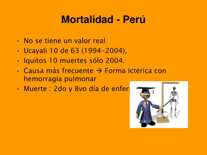 Mortalidad - Perú