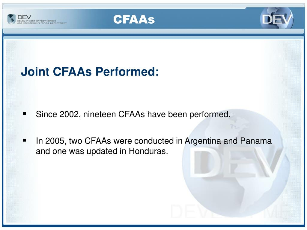 CFAAs