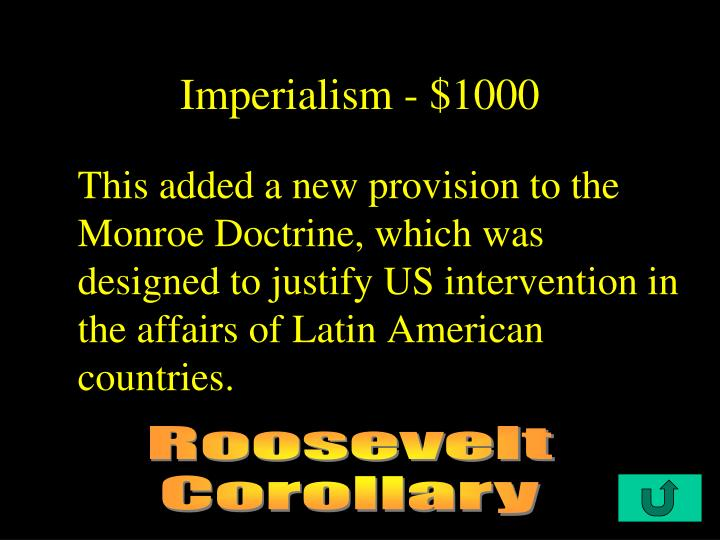 Imperialism - $1000