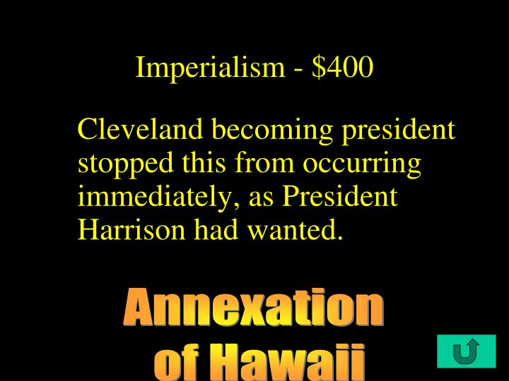 Imperialism - $400