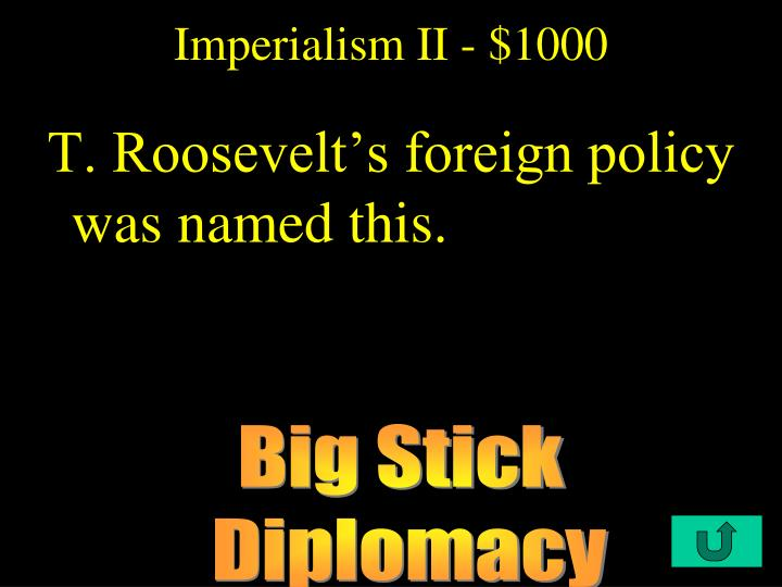 Imperialism II - $1000