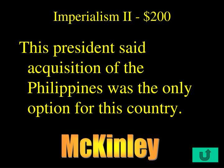 Imperialism II - $200