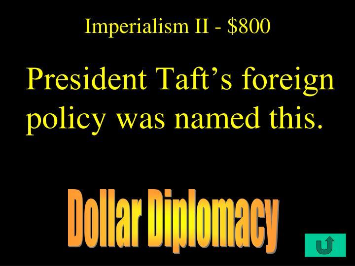 Imperialism II - $800