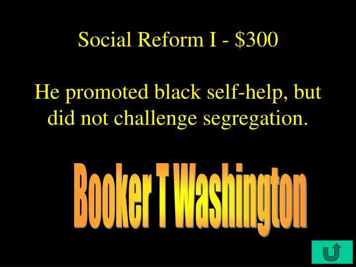Social Reform I - $300